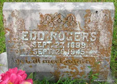ROGERS, EDD - Van Buren County, Arkansas   EDD ROGERS - Arkansas Gravestone Photos