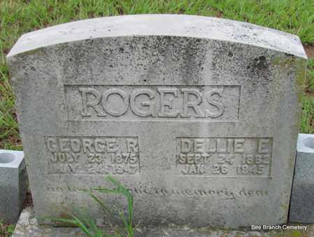 ROGERS, GEORGE R - Van Buren County, Arkansas   GEORGE R ROGERS - Arkansas Gravestone Photos