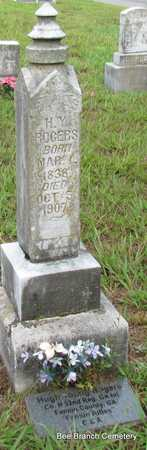 ROGERS, H Y - Van Buren County, Arkansas | H Y ROGERS - Arkansas Gravestone Photos