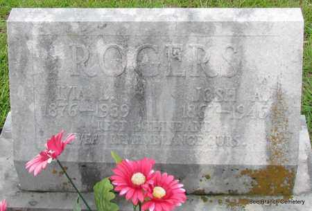 ROGERS, IVIA L - Van Buren County, Arkansas | IVIA L ROGERS - Arkansas Gravestone Photos