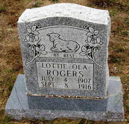 ROGERS, LOTTIE LOLA - Van Buren County, Arkansas | LOTTIE LOLA ROGERS - Arkansas Gravestone Photos