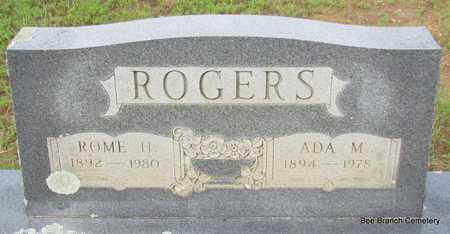 ROGERS, ROME H - Van Buren County, Arkansas | ROME H ROGERS - Arkansas Gravestone Photos