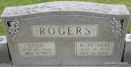 ROGERS, ULUS - Van Buren County, Arkansas | ULUS ROGERS - Arkansas Gravestone Photos