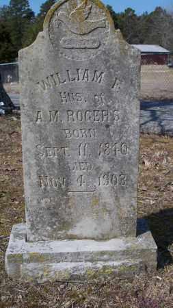 ROGERS, WILLIAM F - Van Buren County, Arkansas | WILLIAM F ROGERS - Arkansas Gravestone Photos