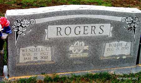 ROGERS, WENDELL C - Van Buren County, Arkansas | WENDELL C ROGERS - Arkansas Gravestone Photos
