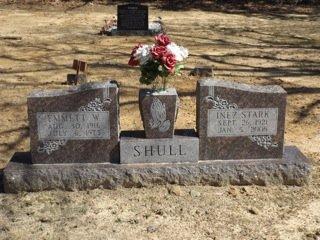 SHULL, INEZ - Van Buren County, Arkansas | INEZ SHULL - Arkansas Gravestone Photos