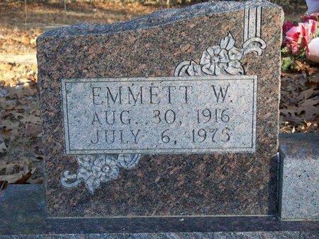 SHULL, EMMETT WILKERSON (CLOSE UP) - Van Buren County, Arkansas | EMMETT WILKERSON (CLOSE UP) SHULL - Arkansas Gravestone Photos