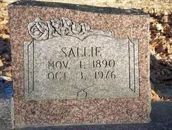 SHULL, SALLIE (CLOSE UP) - Van Buren County, Arkansas | SALLIE (CLOSE UP) SHULL - Arkansas Gravestone Photos