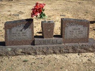 SHULL, SALLIE - Van Buren County, Arkansas   SALLIE SHULL - Arkansas Gravestone Photos