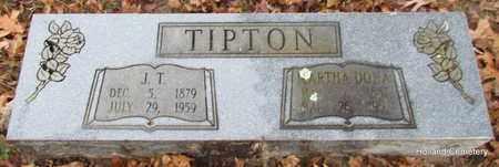 TIPTON, J T - Van Buren County, Arkansas | J T TIPTON - Arkansas Gravestone Photos