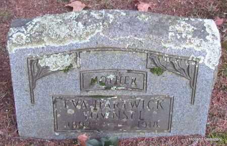 TOWNSEL, EVA - Van Buren County, Arkansas   EVA TOWNSEL - Arkansas Gravestone Photos