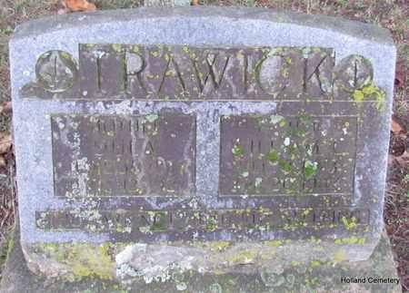 TRAWICK, WILLIAM C - Van Buren County, Arkansas | WILLIAM C TRAWICK - Arkansas Gravestone Photos
