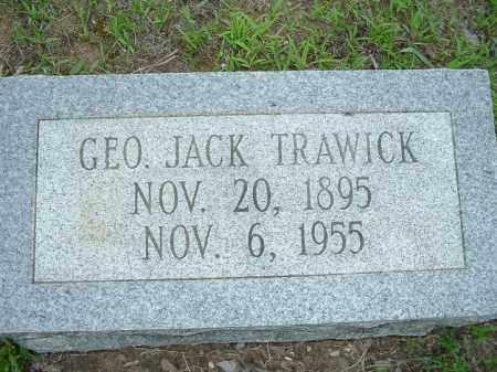 TRAWICK, GEORGE JACK - Van Buren County, Arkansas | GEORGE JACK TRAWICK - Arkansas Gravestone Photos