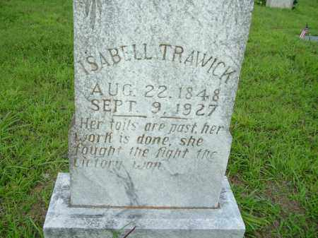 TRAWICK, ISABELL - Van Buren County, Arkansas | ISABELL TRAWICK - Arkansas Gravestone Photos