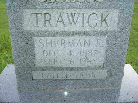 TRAWICK, SHERMAN E - Van Buren County, Arkansas   SHERMAN E TRAWICK - Arkansas Gravestone Photos