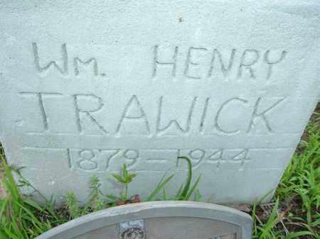 TRAWICK, WILLIAM HENRY - Van Buren County, Arkansas   WILLIAM HENRY TRAWICK - Arkansas Gravestone Photos