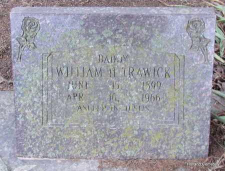 TRAWICK, WILLIAM H - Van Buren County, Arkansas | WILLIAM H TRAWICK - Arkansas Gravestone Photos