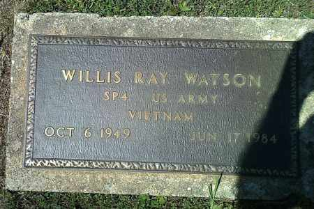 WATSON  (VETERAN VIET), WILLIS RAY - Van Buren County, Arkansas | WILLIS RAY WATSON  (VETERAN VIET) - Arkansas Gravestone Photos
