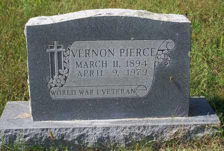 PIERCE (VETERAN WWI), VERNON - Washington County, Arkansas   VERNON PIERCE (VETERAN WWI) - Arkansas Gravestone Photos