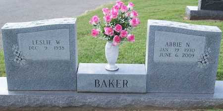 BAKER, ABBIE N - Washington County, Arkansas | ABBIE N BAKER - Arkansas Gravestone Photos