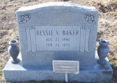 BAKER, BESSIE V. - Washington County, Arkansas   BESSIE V. BAKER - Arkansas Gravestone Photos