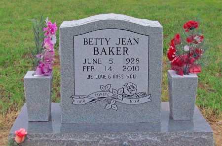 BAKER, BETTY JEAN - Washington County, Arkansas   BETTY JEAN BAKER - Arkansas Gravestone Photos
