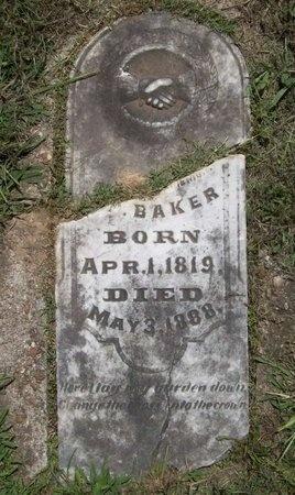 BAKER, C P - Washington County, Arkansas | C P BAKER - Arkansas Gravestone Photos