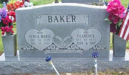 BAKER, CLARENCE - Washington County, Arkansas | CLARENCE BAKER - Arkansas Gravestone Photos