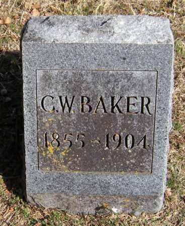 BAKER, C.W. - Washington County, Arkansas | C.W. BAKER - Arkansas Gravestone Photos