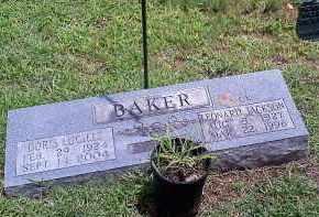 BAKER, DORIS LUCILLE - Washington County, Arkansas   DORIS LUCILLE BAKER - Arkansas Gravestone Photos