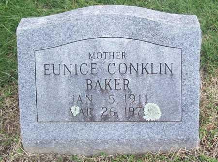 BAKER, EUNICE - Washington County, Arkansas   EUNICE BAKER - Arkansas Gravestone Photos