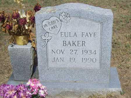 BAKER, EULA FAYE - Washington County, Arkansas | EULA FAYE BAKER - Arkansas Gravestone Photos