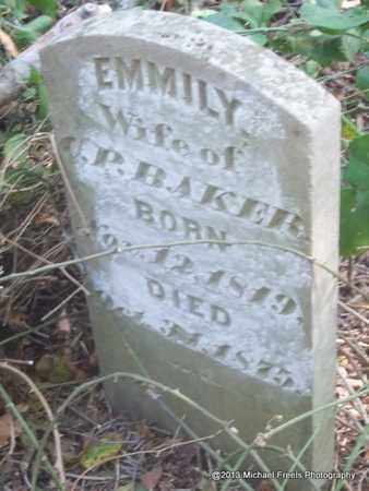 BAKER, EMMILY - Washington County, Arkansas | EMMILY BAKER - Arkansas Gravestone Photos
