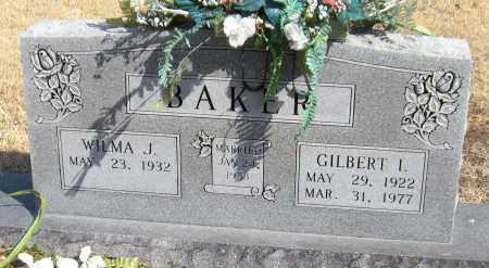BAKER, GILBERT I. - Washington County, Arkansas   GILBERT I. BAKER - Arkansas Gravestone Photos