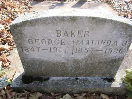 BAKER, GEORGE - Washington County, Arkansas   GEORGE BAKER - Arkansas Gravestone Photos