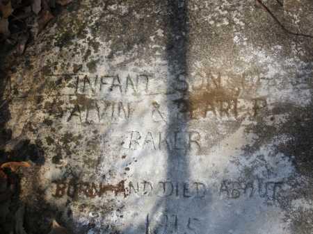BAKER, INFANT - Washington County, Arkansas | INFANT BAKER - Arkansas Gravestone Photos