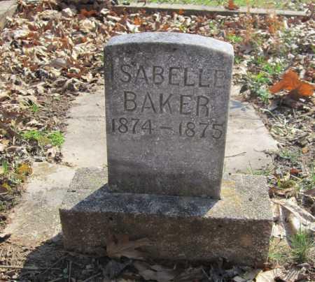 BAKER, ISABELLE - Washington County, Arkansas   ISABELLE BAKER - Arkansas Gravestone Photos