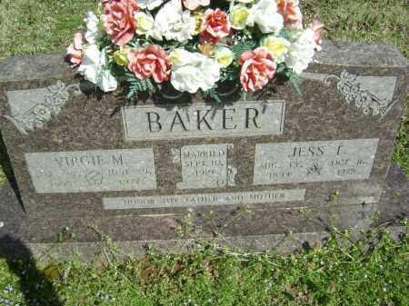 BAKER, VIRGIE MAE - Washington County, Arkansas | VIRGIE MAE BAKER - Arkansas Gravestone Photos