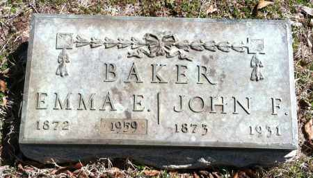 BAKER, JOHN F - Washington County, Arkansas | JOHN F BAKER - Arkansas Gravestone Photos