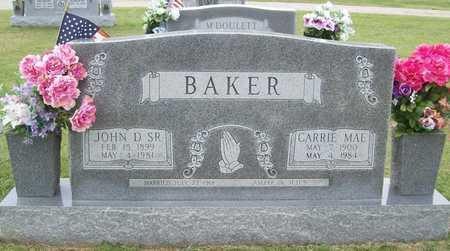 BAKER, CARRIE MAE - Washington County, Arkansas | CARRIE MAE BAKER - Arkansas Gravestone Photos