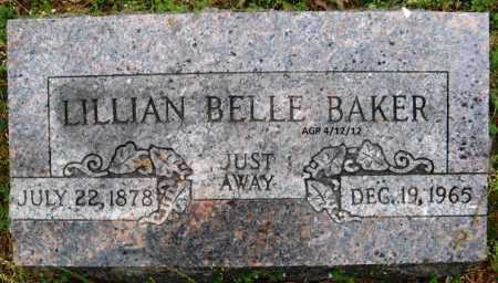 BAKER, LILLIAN BELLE - Washington County, Arkansas | LILLIAN BELLE BAKER - Arkansas Gravestone Photos