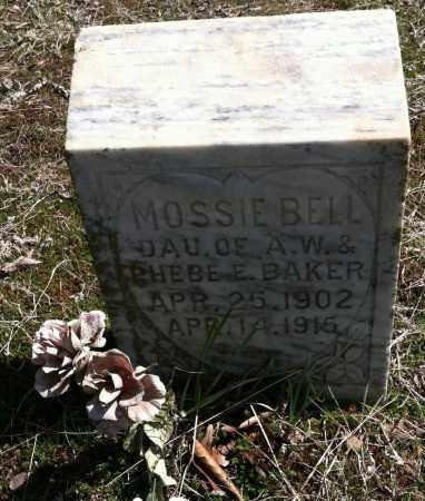 BAKER, MOSSIE BELL - Washington County, Arkansas | MOSSIE BELL BAKER - Arkansas Gravestone Photos