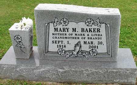 BAKER, MARY M - Washington County, Arkansas | MARY M BAKER - Arkansas Gravestone Photos