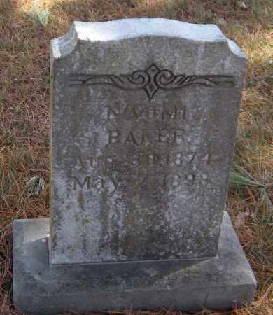 BAKER, NAOMI - Washington County, Arkansas | NAOMI BAKER - Arkansas Gravestone Photos