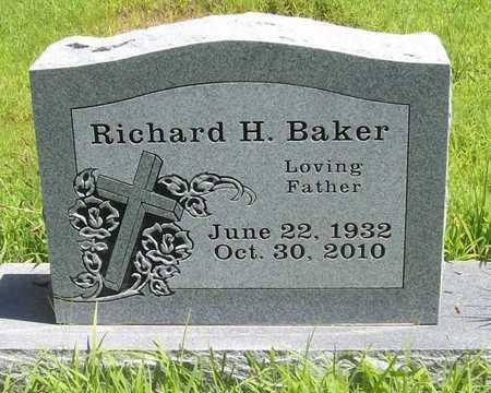 BAKER, RICHARD H - Washington County, Arkansas | RICHARD H BAKER - Arkansas Gravestone Photos