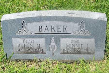 BAKER, MINNIE L. - Washington County, Arkansas | MINNIE L. BAKER - Arkansas Gravestone Photos