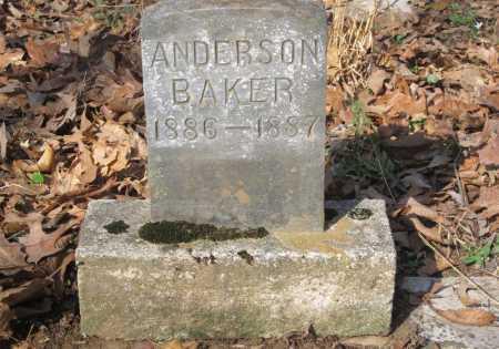 BAKER, RICHARD ANDERSON - Washington County, Arkansas | RICHARD ANDERSON BAKER - Arkansas Gravestone Photos