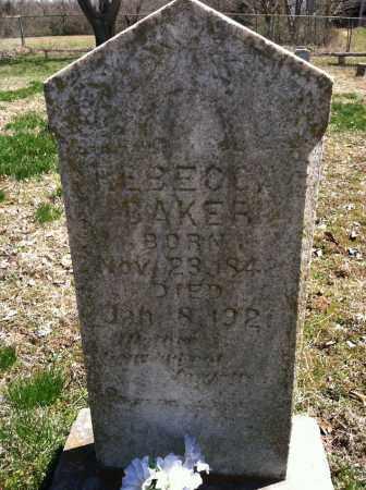 BAKER, REBECCA - Washington County, Arkansas   REBECCA BAKER - Arkansas Gravestone Photos