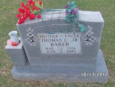 BAKER, THOMAS C - Washington County, Arkansas   THOMAS C BAKER - Arkansas Gravestone Photos