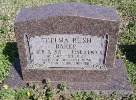 BAKER, THELMA - Washington County, Arkansas   THELMA BAKER - Arkansas Gravestone Photos